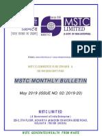Mstc e Bulletin May 2019