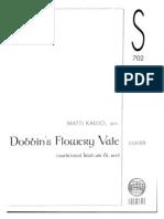 Rajaton - Dobbin's Flowery Vale [SSATBB]