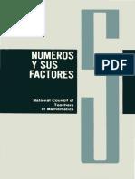 Cuaderno 5 Números y Sus Factores. National Council of Teachers of Mathematics U. S. a.