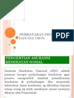 Pembayaran Prospektif Dan Ina Cbg's 2019