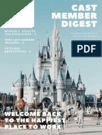 disney newsletter template