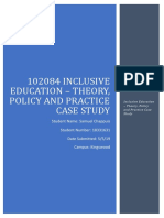 102084 inclusive education - theory policy and practice