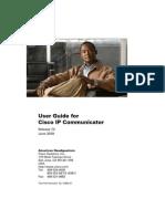 IP Communicator User Guide (Cisco Ver)