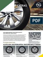 Opel Corsa Zubehoer Katalog