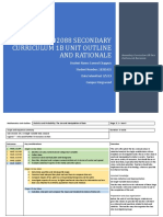 102088 secondary curriculum 1b unit outline and rationale