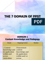 The 7 DOMAIN of Ppst