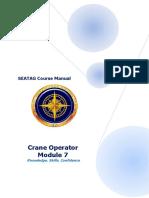 SEATAG Crane Ops Handbook Module 7