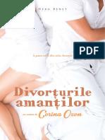 Divorturile Amantilor-Corina Ozon Fragmente-carte