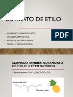 Obtención de Butirato de Etiloo