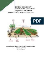 Fertilizacion y riego