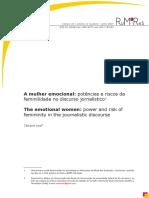 2- LEAL, Tatiane. A mulher emocional potências e riscos da feminilidade no discurso jornalístico. RUMORES (USP),.pdf