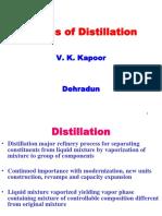 Basics of Distillation