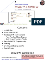 Introduction to LabVIEW - Overview