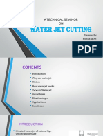 water jet cutting ppt