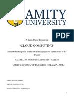 NTCC Cloud Computing Report