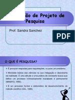 projetos de pesquisa