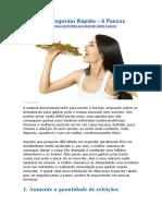 Dieta Para Engordar Rápido - 6 Passos