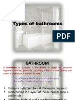 Types of Bathrooms