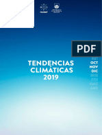 Tendencias Climaticas Oct Nov Dic