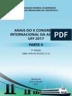 Anais do X Congresso Internacional da Abralin