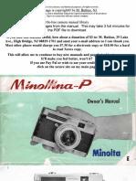 Minoltina-P Manual Book