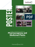 Pharmacognosy 2018 Posters Accepted Abstracts