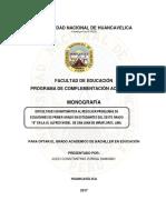 Monografia Zuñiga Damiano