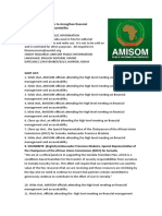 AMISOM meets to strengthen financial management and accountability