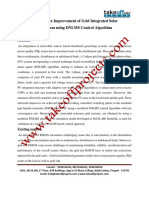 10.Performance Improvement of Grid Integrated Solar PV System Using DNLMS Control Algorithm