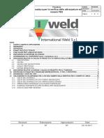 PO-04-03 Procedura Per La Verifica Delle Attrezzature Ed Insiemi PED R.0