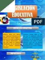 Legislación Educativa Final