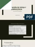Soluciones Tecnológicas_Prevención de Fatiga y Somnolencia