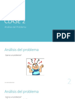 ANÁLISIS DE PROBLEMA