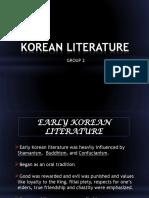 Korean Literature