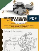 NJohnson FourFrameModel ReframingOrganizations Adapted