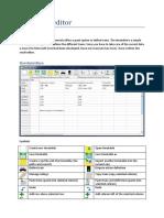 Timetable Editor En
