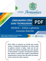 MÚSICA – Estilos e gêneros musicais diversos.pptx