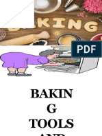 Baking tools and equipment and their uses