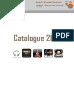 Catalogue Musique 2014