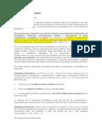 TERMINOS BASICOS DE ESTADISTICA