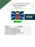 Leccion 1. Proyecto Pablo