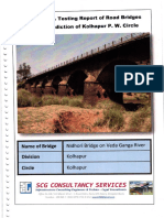 Nidhori Bridge Structural Audit Report