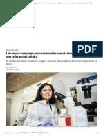 Una Nueva Tecnología Pretende Transformar El Cáncer de Pulmón en Una Enfermedad Crónica _ Ciencia _ EL PAÍS