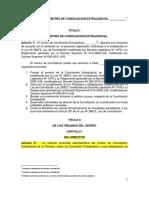 05. Modelo de Reglamento de Centro de Conciliacion