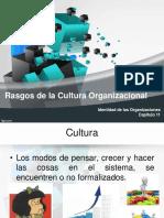 Rasgos de La Cultura Organizacional