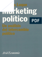 Marketing Político. Un Análisis de Intercambio Político