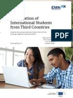 10a. Germany National Report Immigration of International Students Final en Version En