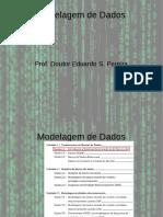 Introdução a modelagem de Dados