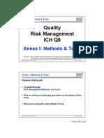 Quality Risk Management Tools