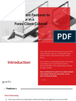 Important Features to Look for in a Forex Client Cabinet